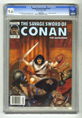 Magazines:Miscellaneous, Savage Sword of Conan #146 (Marvel, 1988) CGC NM+ 9.6 White pages.Ernie Chan and Armando Gil art. Daniel Horne cover. Overs...