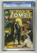 Bronze Age (1970-1979):Horror, Tales of the Zombie #6 (Marvel, 1974) CGC NM 9.4 Off-white pages.Brother Voodoo appearance. Earl Norem cover. Gene Colan an...