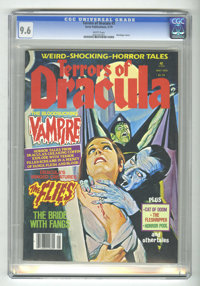 Terrors of Dracula #3 (Eerie Publications, 1979) CGC NM+ 9.6 White pages