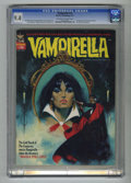 Bronze Age (1970-1979):Horror, Vampirella #18 (Warren, 1972) CGC NM 9.4 Off-white to white pages.Second appearance of Dracula in title. Enrich Torres cove...