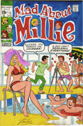 Animation Art:Animation Art, Millie the Model Cover Color Guide Production Art, Group of 4Signed by Stan Lee (Marvel, 1970-71).... (Total: 4)