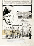 "Original Comic Art:Splash Pages, Jack Sparling - Movie Classics ""The Dirty Dozen,"" Splash page 1Original Art (Dell, 1967)...."