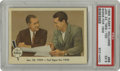 Baseball Cards:Singles (1950-1959), 1959 Fleer Ted Williams Jan. 23, 1959-Ted Signs For 1959 #68 PSA EX 5. From the all-Ted Williams issue released in 1959 we ...