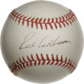 Autographs:Baseballs, Richie Ashburn Single Signed Baseball. Spectacular single from thePhillies Hall of Famer. 10/10 black ink signature on th...