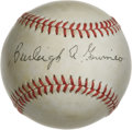 Autographs:Baseballs, Burleigh Grimes Single Signed Baseball. ONL (Feeney) ball providesa 10/10 black ink sweet spot signature from this Hall of...