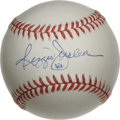 Autographs:Baseballs, Reggie Jackson Single Signed Baseball. A 9+/10 sweet spot blue inksignature from Mr. October. ONL (White) ball. LOA fro...