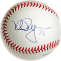 Autographs:Baseballs, Mark McGwire Single Signed Baseball. Flawless side panel signaturefrom Big Mac makes note of his historic 1998 home run to...