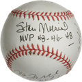 Autographs:Baseballs, St. Louis Cardinals MVP's Multi-Signed Baseball. Some of the biggest names ever to wear the birds and bat logo join forces ...