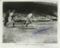 Autographs:Photos, Joe DiMaggio Signed Photograph. In what would prove to be a featthat has yet to be matched, the intrepid slugger Joe DiMag...