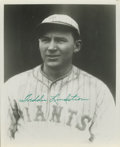"""Autographs:Photos, Freddie Lindstrom Signed Photograph. Handsome 8x10"""" print that weoffer here has been perfectly signed in green sharpie by ..."""
