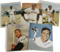 "Autographs:Photos, Hall of Famers Signed Photographs Lot of 9. Intriguing lot of 8x10""photos features: Feller (two identical images), Cepeda ..."