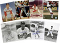 "Autographs:Photos, St. Louis Cardinals All-Time Greats Signed Photographs Lot of 125.Massive collection here compiles 125 signed 8x10"" photos..."