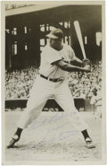 "Autographs:Post Cards, Luke Easter Signed Photographic Postcard. Attractive 3.5x5.5""postcard sports an signature on the image of behemoth Luke E..."