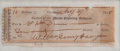 """Autographs:U.S. Presidents, William Henry Harrison Signed Check engrossed entirely in his hand.A """"Cashier of the Miami Exporting Company"""" check made ou..."""