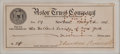 "Autographs:U.S. Presidents, Theodore Roosevelt Signed Check. 6.5"" x 2.25"". July 8, 1911. A check for $5.00 made payable to the ""Holland Society of New Y..."