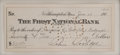 "Autographs:U.S. Presidents, Calvin Coolidge Signed Check. 6.5"" x 2.75"", June 19, 1912. A checkfor $70.00 made out to ""Hampshire Co[unty] Nat[i..."