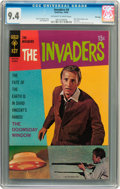 Silver Age (1956-1969):Science Fiction, The Invaders #4 File Copy (Gold Key, 1968) CGC NM 9.4 Off-white to white pages....