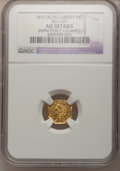 California Fractional Gold, 1870 $1 Liberty Octagonal 1 Dollar, BG-1107, R.5,--ImproperlyCleaned--NGC Details. AU. NGC Census: (0/3). PCGS Population ...