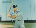 Autographs:Photos, Circa 1990 Mickey Mantle Signed Large Photograph....