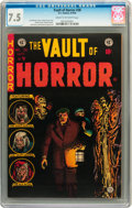 Golden Age (1938-1955):Horror, Vault of Horror #38 (EC, 1954) CGC VF- 7.5 Cream to off-white pages....