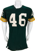 Football Collectibles:Uniforms, 1961-64 Hank Gremminger Game Worn Green Bay Packers Jersey, Helmet and Cleats....