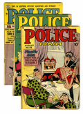 Golden Age (1938-1955):Superhero, Police Comics #93, 97, and 104 Group (Quality, 1949-50).... (Total: 3 Comic Books)