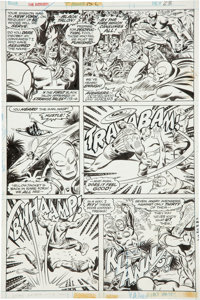 John Buscema and Joe Sinnott The Avengers #152 page 23 Original Art (Marvel, 1976)