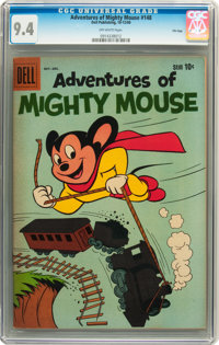 Adventures of Mighty Mouse #148 File Copy (Dell, 1960) CGC NM 9.4 Off-white pages