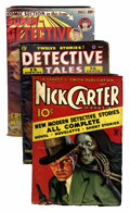 Pulps:Detective, Assorted Detective Pulps Group (Various, 1935-53) Condition:Average VG.... (Total: 10 Comic Books)