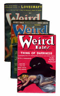 Pulps:Horror, Weird Tales Group (Popular Fiction, 1937-41).... (Total: 3 Items)