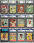 Autographs:Others, 1933 Goudey Baseball Encapsulated Signed Card Collection (86). ...