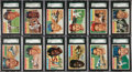Baseball Cards:Sets, 1956 Topps Baseball High Grade Complete Set (340). ...