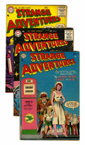 Golden Age (1938-1955):Science Fiction, Strange Adventures Group (DC, 1954-56) Condition: Average VG....(Total: 10 Comic Books)