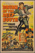 "Movie Posters:War, Drums in the Deep South (RKO, 1951). One Sheet (27"" X 41""). War....."