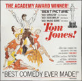 "Movie Posters:Academy Award Winners, Tom Jones (United Artists, 1963). Six Sheet (81"" X 81""). AcademyAward Winners.. ..."