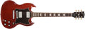Musical Instruments:Electric Guitars, 2006 Gibson SG Standard Heritage Cherry Electric Guitar, #033561326....