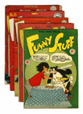 Golden Age (1938-1955):Funny Animal, Funny Stuff Group (DC, 1945-48).... (Total: 5 Comic Books)