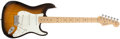 Musical Instruments:Electric Guitars, 2004 Fender Stratocaster Sunburst Electric Guitar # Z3224266...