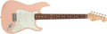 Musical Instruments:Electric Guitars, 2001 Fender Stratocaster Custom 1960's Salmon Pink Electric Guitar#CN702155....