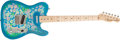 Musical Instruments:Electric Guitars, 1993 Fender Telecaster 1968 Floral Reissue Electric Guitar#P069264...