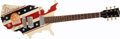 Musical Instruments:Electric Guitars, 1984 GIBSON USA Red, White & Blue MAP Electric Guitar#80064002....