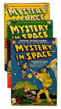 Golden Age (1938-1955):Science Fiction, Mystery in Space Group (DC, 1952-65) Condition: Average GD....(Total: 20 Comic Books)