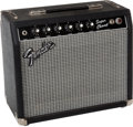 Musical Instruments:Amplifiers, PA, & Effects, Circa 1982 Fender Super Champ Rivera Era Guitar Amplifier #F221951...