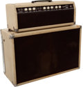 Musical Instruments:Amplifiers, PA, & Effects, 1962 Fender Tremolux Blonde Guitar Amplifier Head & 2X10Cabinet #03250...