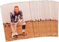 Football Collectibles:Photos, Circa 1990 Johnny Unitas Signed Photographs Lot of 250....