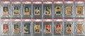 Baseball Cards:Sets, 1919-21 W514 Baseball Complete Set (120) - With Jackson and SixOther Black Sox. ...