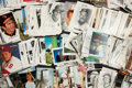 Baseball Collectibles:Others, Baseball Stars Vintage Postcards and Photographs Lot of 500+....