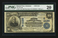 National Bank Notes:Arkansas, Marked Tree, AR - $10 1902 Plain Back Fr. 632 The First NB Ch. # (S)11122. ...