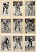 Hockey Cards:Lots, 1934-43 Beehive Hockey Photos Collection (9) - All Scarce Subjects!...