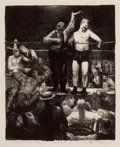 American:Portrait & Genre, GEORGE WESLEY BELLOWS (American, 1882-1925). Introductions,1921. Lithograph . 8-1/2 x 7 inches (21.6 x 17.8 cm). From t...